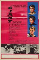 Giant - British Movie Poster (xs thumbnail)
