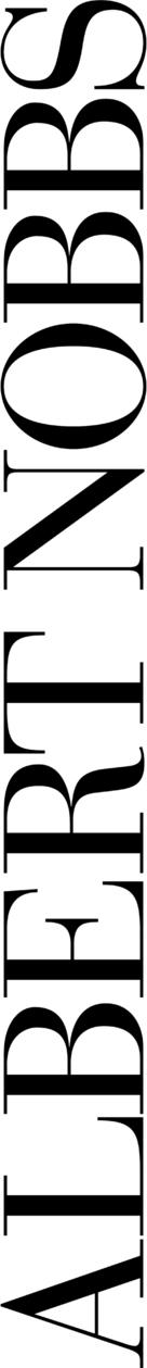 Albert Nobbs - Logo (xs thumbnail)