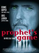 The Prophet's Game - German Movie Poster (xs thumbnail)
