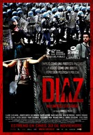 Diaz: Don't Clean Up This Blood - Spanish Movie Poster (xs thumbnail)
