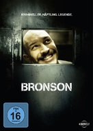 Bronson - German DVD cover (xs thumbnail)