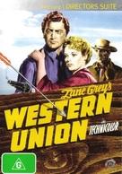 Western Union - Australian DVD movie cover (xs thumbnail)