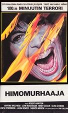 Murder obsession (Follia omicida) - Finnish VHS movie cover (xs thumbnail)