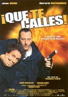 Tais-toi! - Spanish Movie Poster (xs thumbnail)