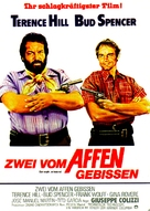 Dio perdona... Io no! - German Movie Poster (xs thumbnail)