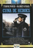 The Long Gray Line - Spanish Movie Cover (xs thumbnail)