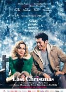 Last Christmas - Czech Movie Poster (xs thumbnail)