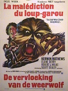 The Boy Who Cried Werewolf - Belgian Movie Poster (xs thumbnail)