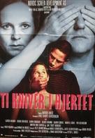 Ti kniver i hjertet - Norwegian Movie Poster (xs thumbnail)
