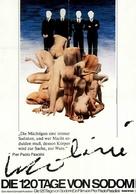Salò o le 120 giornate di Sodoma - German Movie Poster (xs thumbnail)