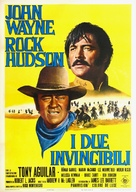 The Undefeated - Italian Movie Poster (xs thumbnail)