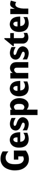 Gespenster - German Logo (xs thumbnail)