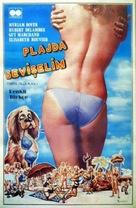 L'hôtel de la plage - Turkish Movie Poster (xs thumbnail)