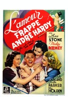 Love Finds Andy Hardy - Belgian Movie Poster (xs thumbnail)