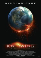 Knowing - German Movie Poster (xs thumbnail)