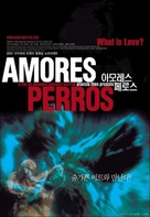Amores Perros - South Korean Movie Poster (xs thumbnail)