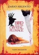 L'uccello dalle piume di cristallo - Swedish DVD movie cover (xs thumbnail)