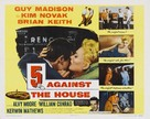 5 Against the House - Movie Poster (xs thumbnail)