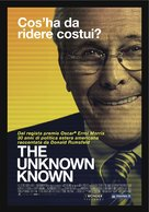 The Unknown Known - Italian Movie Poster (xs thumbnail)