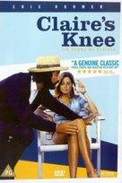 Le genou de Claire - British DVD cover (xs thumbnail)