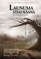 The Conjuring - Latvian Movie Poster (xs thumbnail)