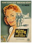 Kitty und die große Welt - Danish Movie Poster (xs thumbnail)