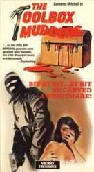 The Toolbox Murders - VHS cover (xs thumbnail)