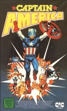 Captain America - German Movie Cover (xs thumbnail)