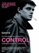 Control - Danish Movie Poster (xs thumbnail)