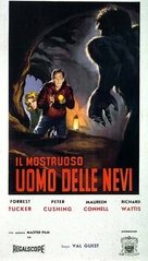 The Abominable Snowman - Italian Movie Poster (xs thumbnail)