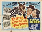 Francis Covers the Big Town - Movie Poster (xs thumbnail)
