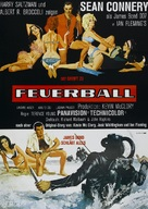 Thunderball - German Movie Poster (xs thumbnail)