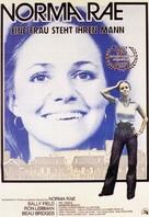Norma Rae - German Movie Poster (xs thumbnail)