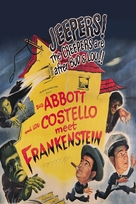 Bud Abbott Lou Costello Meet Frankenstein - DVD movie cover (xs thumbnail)