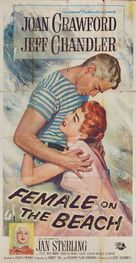 Female on the Beach - Movie Poster (xs thumbnail)