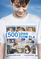 (500) Days of Summer - Brazilian DVD movie cover (xs thumbnail)