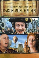 The Adventures of Baron Munchausen - DVD cover (xs thumbnail)