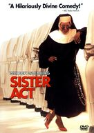 Sister Act - DVD cover (xs thumbnail)