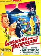 Drums of Tahiti - French Movie Poster (xs thumbnail)