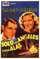 Only Angels Have Wings - Spanish Movie Poster (xs thumbnail)