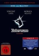 Dobermann - German Blu-Ray movie cover (xs thumbnail)