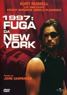 Escape From New York - Italian DVD cover (xs thumbnail)