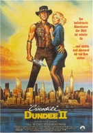 Crocodile Dundee II - German Movie Poster (xs thumbnail)