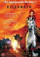 Elizabeth - Danish DVD movie cover (xs thumbnail)