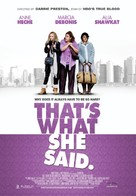 That's What She Said - Movie Poster (xs thumbnail)