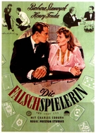 The Lady Eve - German Movie Poster (xs thumbnail)