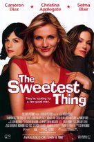 The Sweetest Thing - Movie Poster (xs thumbnail)