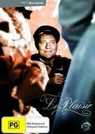 Le plaisir - Australian DVD cover (xs thumbnail)