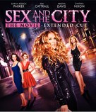 Sex and the City - Blu-Ray movie cover (xs thumbnail)