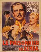 The Prisoner of Zenda - Belgian Movie Poster (xs thumbnail)